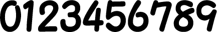 数字のフォント・書体-02