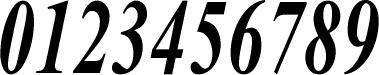 数字のフォント・書体-04
