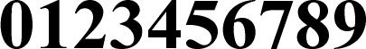 数字のフォント・書体-06