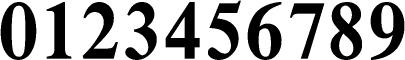 数字のフォント・書体-08
