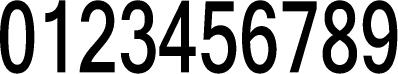 数字のフォント・書体-09