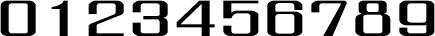 数字のフォント・書体-12