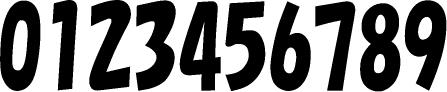数字のフォント・書体-16